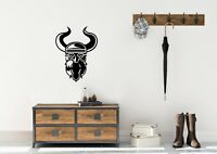 Viking Head Inspired Design Home Decor Wall Art Decal Vinyl Sticker