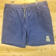 New listing Psycho Bunny Swim Board Shorts Trunks Men's Adult Size 2XL Blue