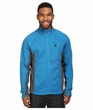 NWT Mens Blue Spyder Constant Full Zip Mid weight core sweater $149 Size X-Large