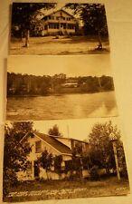 3 RPPC Beckers Lac Court O'Reilles Resort Fishing Club Stiffler's Stone Lake WI