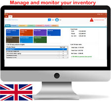 More details for inventory/stock management pc software - stock, invoice, barcode, uk