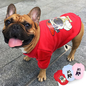 Yorkie French Bulldog Clothes for Dogs Cats Pet Puppy Coats Sweatshirt Jacket