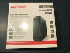 BUFFALO USB 3.0 1 TB High Speed 7200 RPM External Hard Drive (new never opened)