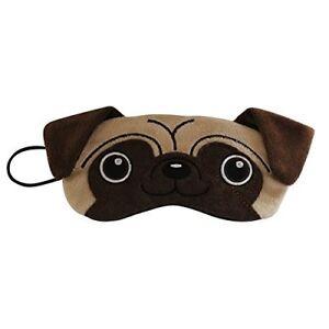 Pug Dog Plush Eye Mask