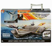 Matchbox 2020 Matchbox Top Gun: Maverick Aircraft Carrier w/ F/A-18 Super Hornet