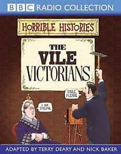 HORRIBLE HISTORIES -THE VILE VICTORIANS - BBC RADIO AUDIO BOOK NEW/SEALED