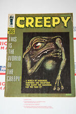 Vintage Creepy Magazine Issues #20! Nuetzell Cover! VG+