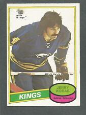 1980-81 OPC O-Pee-Chee Hockey Jerry Korab #300 LA Kings Buffalo Sabres NM/MT