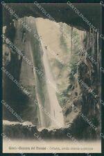 Trento Tenno Cascata del Varone cartolina XB2544