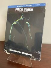 Pitch Black Steelbook (Blu-Ray + Digital, Limited Edition) Factory Sealed