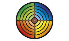 Holz - Zielscheibe Rund Bunt Durchmesser ca. 32 cm 73530-2