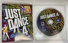 SONY PlayStation 3 PS3 Just Dance 4 (COMPLETE)