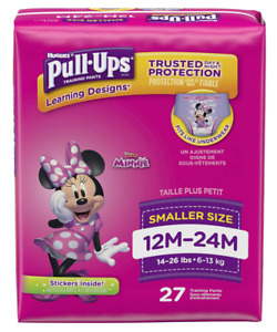 Pull Ups Learning Designs for Girl Potty Training Pants 12 24 Months 14 26 lb