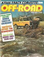 April 1975 Off-Road Trails of Colorado Gravelrama Spanish Van Dango Alta Trail