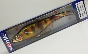 """SEBILE 190 FSK 7 3/4"""" MAGIC SWIMMER Jointed Swimbait Golden Trout FAST SINKING"""