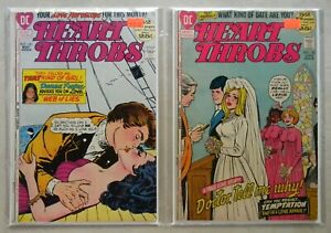 Heart Throbs #141 142 $65.00 LOT (1972) 4.5/4.0 African American cover & stories