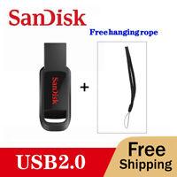 Sandisk USB Flash Drive 16 32 64  GB Mini Pendrive USB 2.0