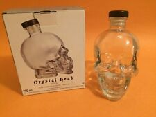 Crystal Head - Skull Vodka 750ml Empty Vodka Bottle with Box Cork Stopper