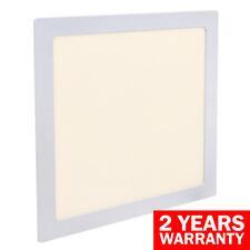 Cuadrado 24W LED luz empotrada de techo plano hacia abajo blanco cálido 300 X 300