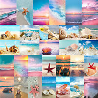 Full Drill 5D DIY Beach Diamond Painting Embroidery Cross Stitch Kits Home Craft