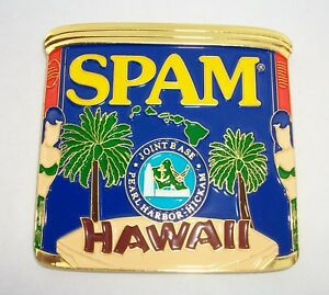 SPAM US Navy Chief Joint Base Pearl Harbor Hickam Hawaii CPO Mess Challenge Coin