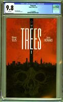 Trees #1 CGC 9.8 Image Comics Warren Ellis White Pages