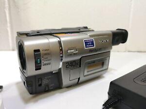 Sony Handycam CCD-TR37E Video 8 Hi8 Camcorder Vintage #1864