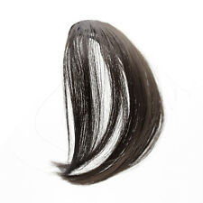 Hair Clip in Bangs Fake Hair Extension False Hair Piece Clip on Front Bang New