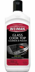 Weiman Glass Cook Top Heavy Duty Cleaner & Polish 10 oz
