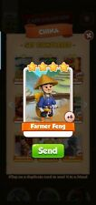 Farmer  Feng - Coin Master - Immediate Delivery via game