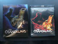 The Changeling (Blu-ray/DVD, 2018, Limited Edition, Severin Films w/ Slipcover)