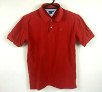 Tommy Hilfiger Boys Red Polo Shirt Size XL (20)