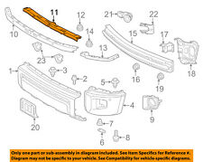 TOYOTA OEM 14-18 Tundra Front Bumper-Upper Retainer 525210C070