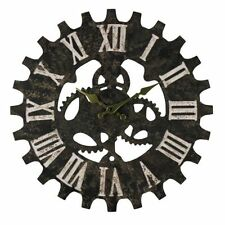 Hometime Rustic Quartz (Battery Powered) Wall Clocks