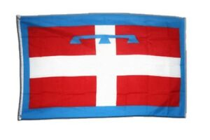 Fahne Italien Piemont Flagge italienische Hissflagge 90x150cm