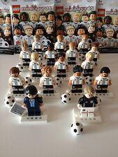 LEGO MINIFIGURES 71014 DFB DIE MANNSCHAFT Football NEW Germany Komplett Complete