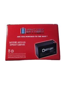 Mighty Max ML7-121911100 12V Battery - 1 Pack