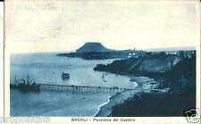 cm 141 1934 BACOLI (Napoli) Panorama dal Castello - viagg -FP Ed.Cimfrini Bacoli