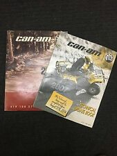 Can-Am Technical Update Books 2007 and 2008  219 100 252   219 100 271 219100271