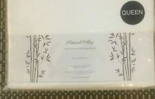 Peacock Alley 100% RAYON FROM BAMBOO Queen Sheet Set CLASSIC WHITE Brand New