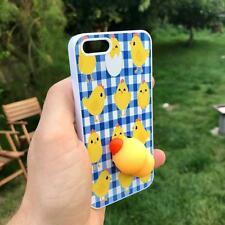 Squishy Chick Animal Phone Cover for iPhone iPod Samsung 4 5 6 7 5th 6th case