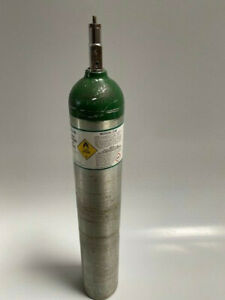 Oxygen Tank Cylinder EMPTY Size E UN1072 680 Liter Outside Hydro Test Date