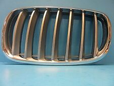 Front Hood Grille Driver Side Replace BMW OEM# 51137185223 X5 X6 E70 Titanium