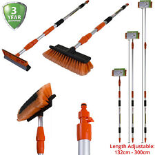 3M Car Wash Brush & Squeegee Telescopic Handle Vehicle Cleaning Tool Wiper Blade