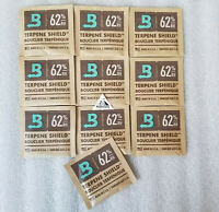 10 Pack Boveda RH 62% 8 gram Humidity 2 Way Control Humidor Fresh packs