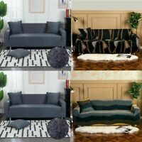 1 2 3 Seater Slipcover Chair Sofa Cover Soft Stretch Elastic Couch Protector