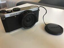 PENTAX Pentax MX MX-1 12.0MP Digital Camera - Silver and Black