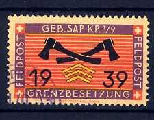 SWITZERLAND - SVIZZERA - 1939 - Svizzera militare. Feldpost. E 1268