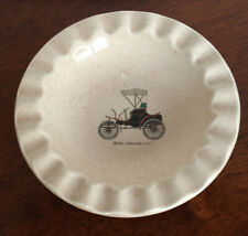 """Vintage Ashtray """"1898 Winton Automobile"""" Royal China Inc made in the USA"""