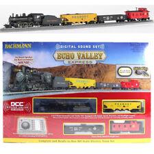Bachmann 00825 Echo Valley Express Electric Train Set w/Digital Sound Set HO Scl